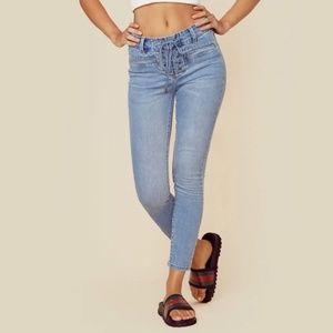 *NWT* Amuse Society Soho Pant Jeans Lace-Up